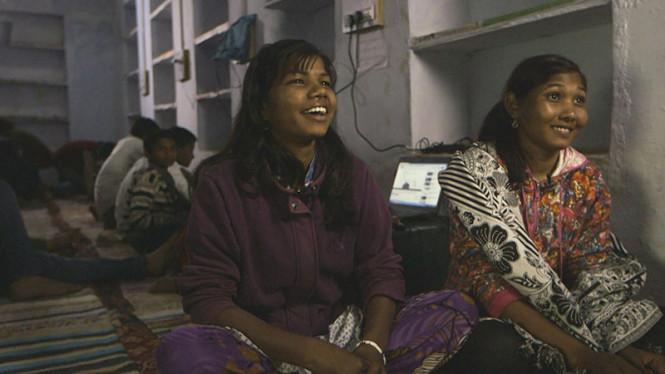 Basanti Bheel and Reena Sahariya