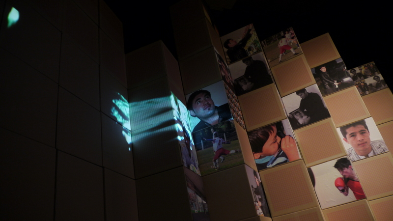 Integrating projections with photo essays at Walker St Gallery, Dandenong